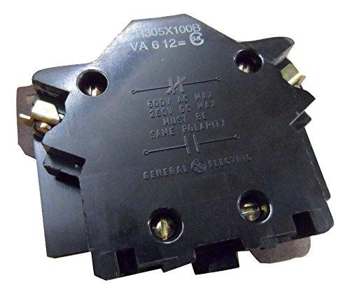 1- CR305X100B GE Controls Auxiliary Contact Kit; 1 NC