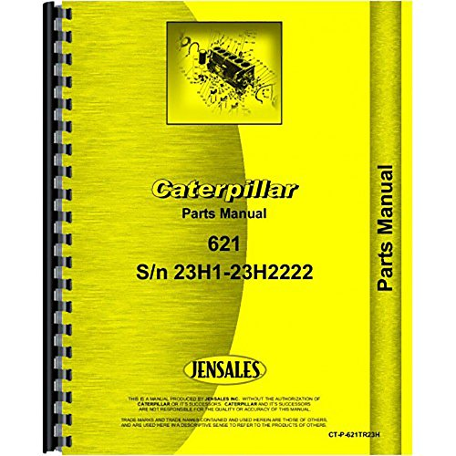 Caterpillar Tractor Parts - For Caterpillar 621 Tractor Parts Manual (New)