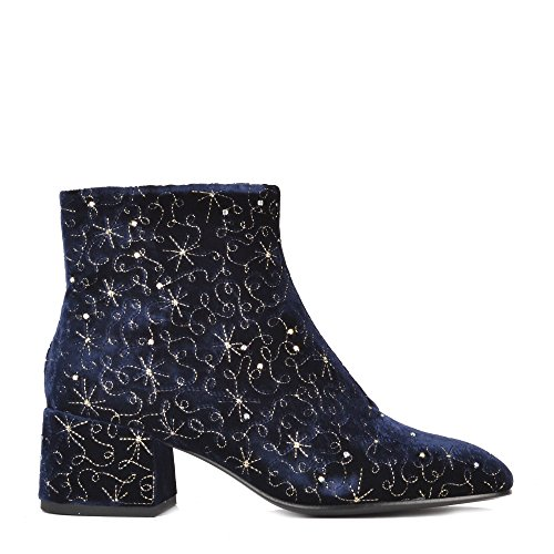 47290fe76a064 Ash Diamond BIS Boots Midnight Blue Velvet 41 Midnight  Amazon.co.uk  Shoes    Bags