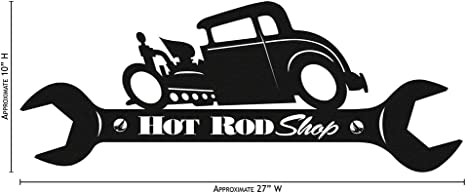 Primitive Sign Humorous Sign Auto Repair Prices Hot Rod Wrench