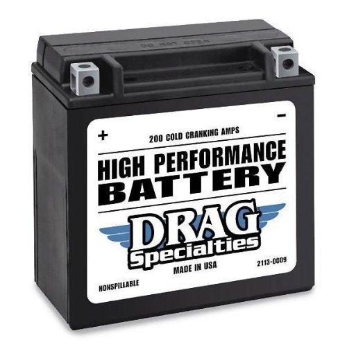 Drag Specialties Battery YTX14L-BS DRGM7RH4L