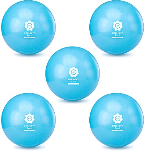 gymnastique//pilates//yoga balle sans phtalates Aqua bleu HARMONY BALL air