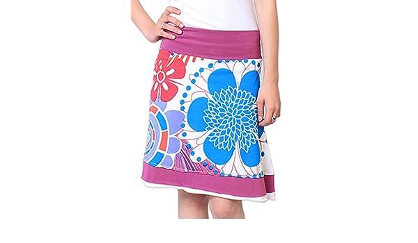 Coton du Monde-Falda Lucy, Color Blanco Blanco 40: Amazon.es: Ropa ...