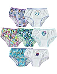 Little Girls' Frozen Seven-Pack Panty Set