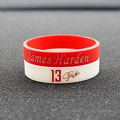 Lorhs store NBA Baloncesto James Harden Pulsera de Silicona de la ...