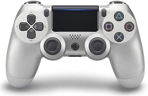 L&WB Dualshock 4 Wireless Controller para Playstation 4 Silver Grey: Amazon.es: Hogar