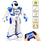 AILUKI Remote Control Robot Toy for Kids, RC Programmable Intelligent Gesture Sensing Robot Kit, LED...