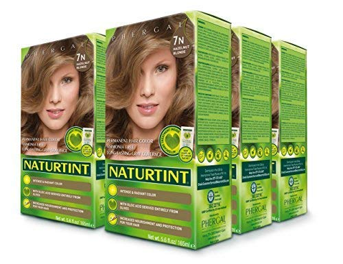 (Naturtint Permanent Hair Color - 7N Hazelnut Blonde, 5.28 fl oz (6-pack))