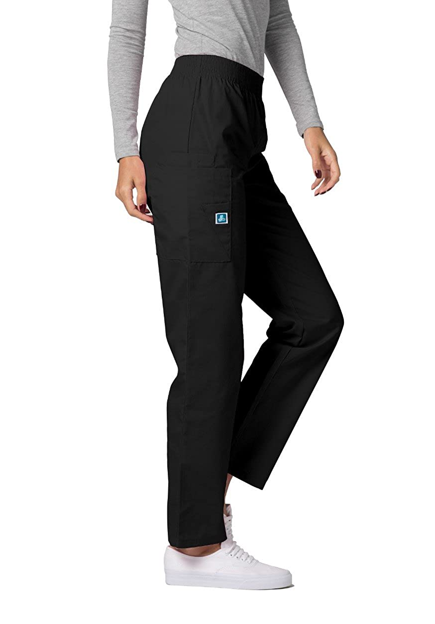 edef8bd7358 Amazon.com: Adar Universal Natural-Rise Comfort 4 Pkt Cargo Utility Tapered  Leg Pants: Clothing