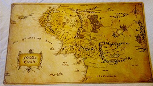 Masters of trade Lord of the Rings Middle Earth Map LOTR TCG playmat, gamemat 24