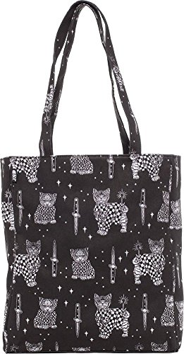 Sourpuss Brand - Cholo Cat - Tote Bag - Cat Square Tote