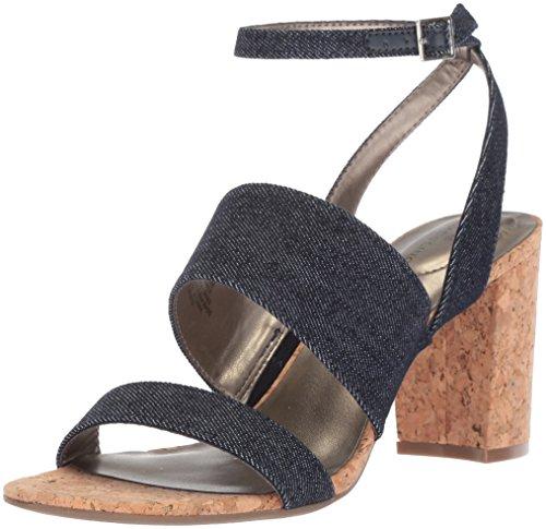 Bandolino Women's Anchor Heeled Sandal Denim 7.5 M ()
