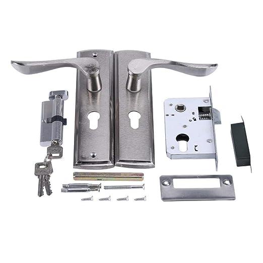 Cerradura casera de aluminio - Cerradura de manija de puerta ...