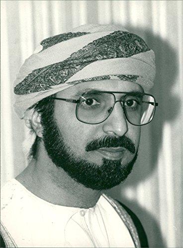 (Vintage photo of Hussain Bin Mohammed Bin Ali )