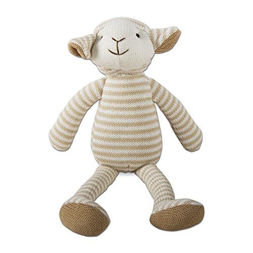 tag - Knit Lamb Plushie, Super Soft and Huggable, Beige (15