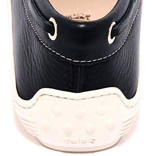 Mocassino Women Donna Scarpa Tod's Marlin Blu Loafer Shoes 96456 Laccetto Zz5wRxFq