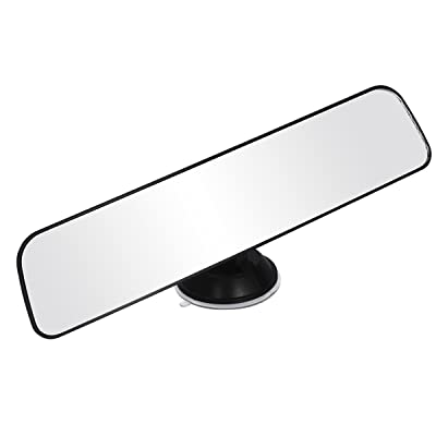 WINOMO Car Panoramic Rear view Mirror Wide Angle Rear View Mirror for Truck Pickup Rv: Automotive