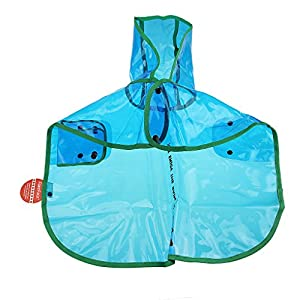 FakeFace Upscale Pet Dog Cat Puppy Teddy Transparent Waterproof Small Dog Cloak Hoodie Rain Coat Poncho Jacket Clothes Pets Raincoat Rainwear Apparel Clothing Costumes with Hood