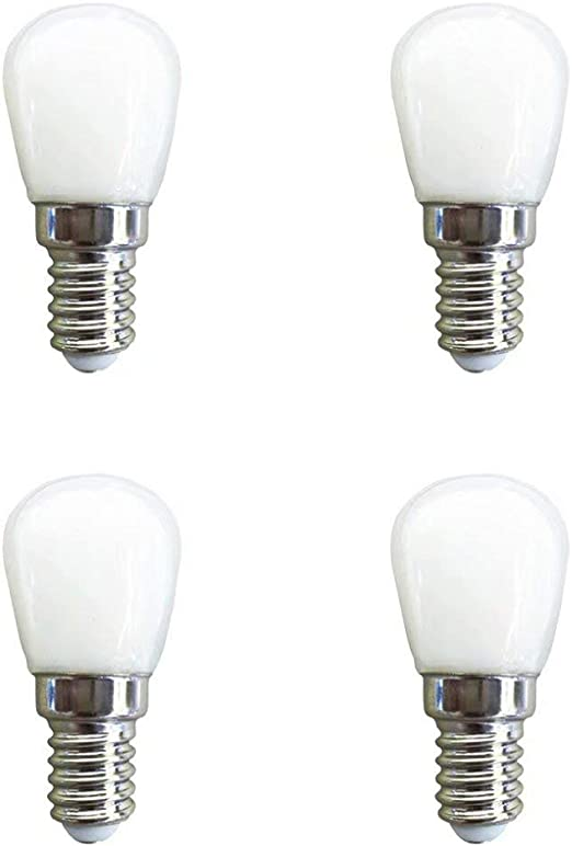 Velain Bombilla LED E14, 1.5W,120lm,Blanco Cálido 3000K,15W ...
