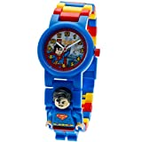 Kids Lego Dc Super Heroes Superman Minifigure Link Watch 8020257