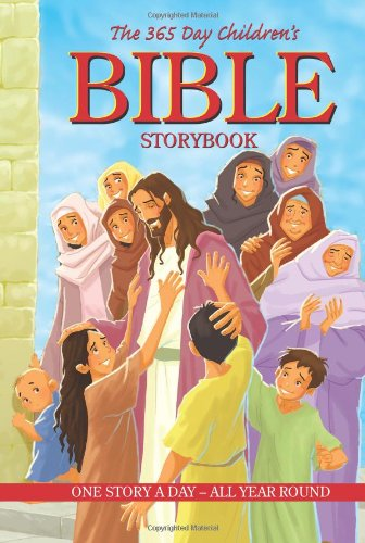 The 365 Day Children's Bible Storybook, Padded Cover