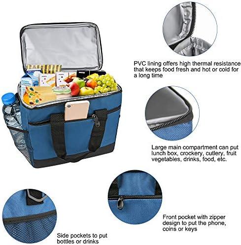 VANWALK 16L Wasserdichte K/ühltasche//Picknicktasche Oxford-Tuch f/ür Camping Arbeit Reisen Strand Kind