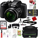 Nikon COOLPIX B600 16MP 60x Optical Zoom Digital Camera w/Accessories Bundle