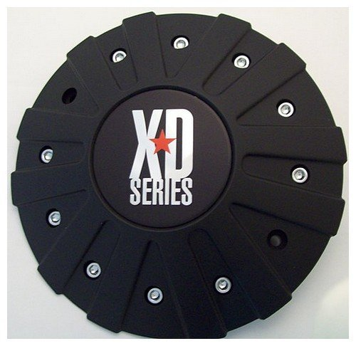 Wheel Pros 846L215B Wheel Center Cap (Black Center Caps)