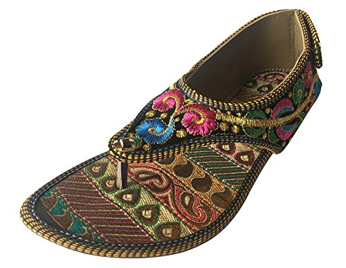 Step n Style Kolhapuri Sandal Flat Shoes Wedding Shoes Khussa Shoes Casual Shoes