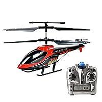 Vatos Hélicoptère Télécommandé, 3.5 Canaux Infrarouge, avec Gyroscope Intégré pour la Stabilité, Hélicoptère Jouet Intérieur pour Enfants