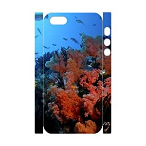 YCHZH Phone case Of Corals Cover Case For iPhone 5,5S