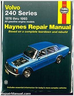 H97020 Haynes Volvo 240 Series 1976-1993 Auto Repair Manual