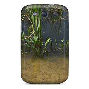 Flexible Tpu Back Case Cover For Galaxy S3 - Pond Nature