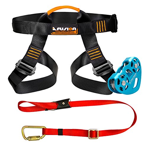 Fusion Climb Pro Backyard Zip Line Kit Harness