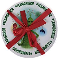 Creedence Dr. Seuss - The Grinch Too Late: 2 Piece Plate Set