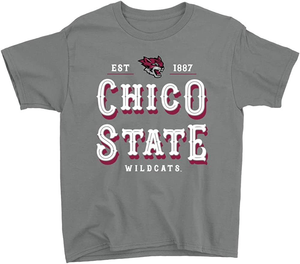 NCAA Chico State Wildcats RYLCHI12 Youth T-Shirt
