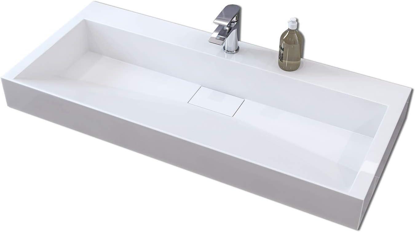 Home Deluxe STO 100 x 46 cm Waschbecken Verschiedene Gr/ö/ßen