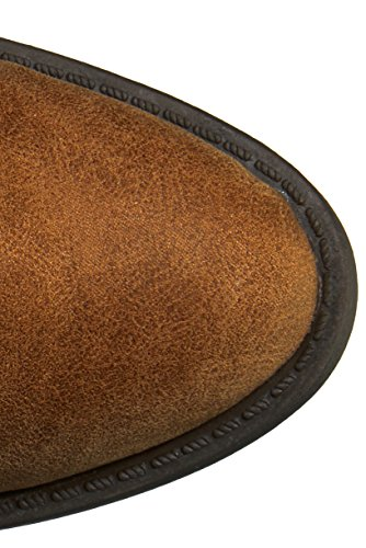 Qupid Women's Knee Camel Over Marcel Boot The 09X ZTAwHqZ