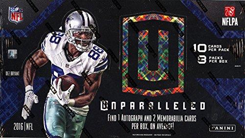 2016 Panini Unparalleled NFL Football HOBBY box (8 pk)