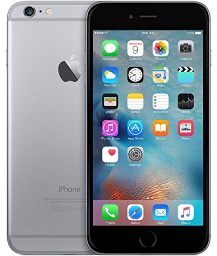Apple iPhone 6 Plus 64GB (AT&T Locked) - Space Gray (Renewed)
