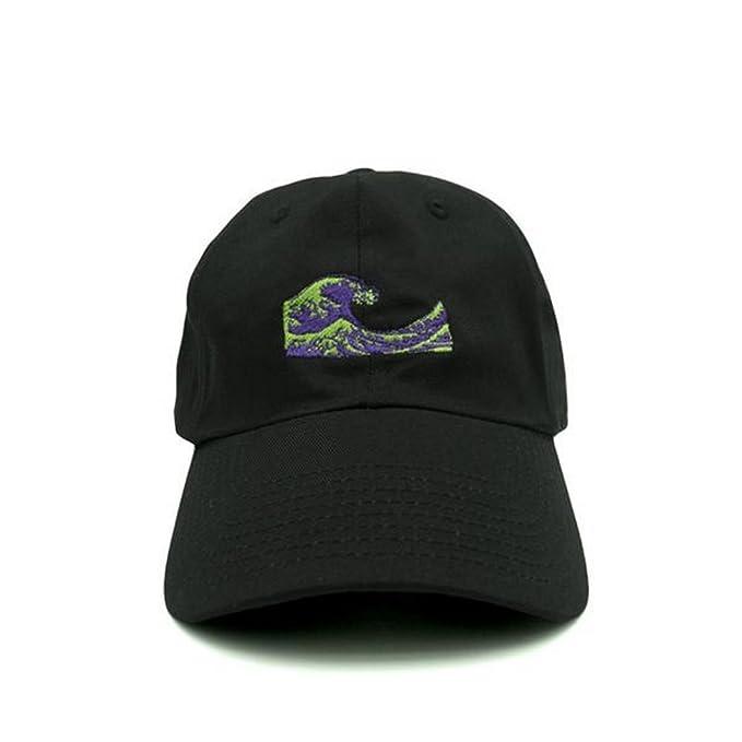 684dd0eeab0 Amazon.com  Nissi Dirty Sprite Dad Hat (Black)  Clothing