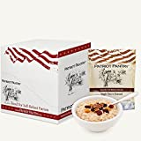 Patriot Pantry Maple Grove Oatmeal Case Pack (48 servings, 6 pk.) Bulk Emergency Storage Food Supply, Up to 25-Year Shelf Life