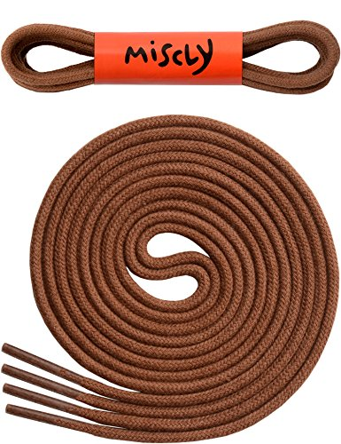 """Free Thin Round Dress Shoelaces 3/32"""" Thick - Premium Quality - By Miscly"""
