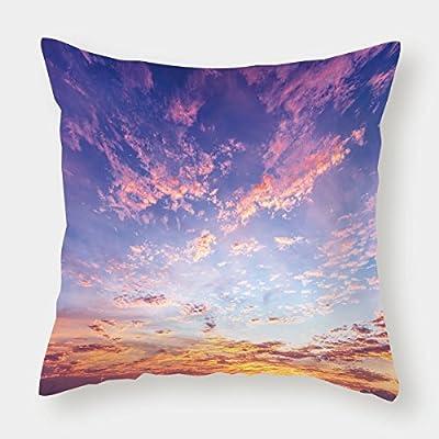 Satin Throw Pillow Cushion Cover,Navy