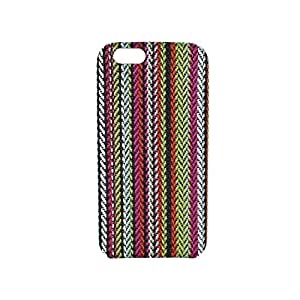 Multi Color Nylon Stitched Pattern Case for iPhone 6/6s