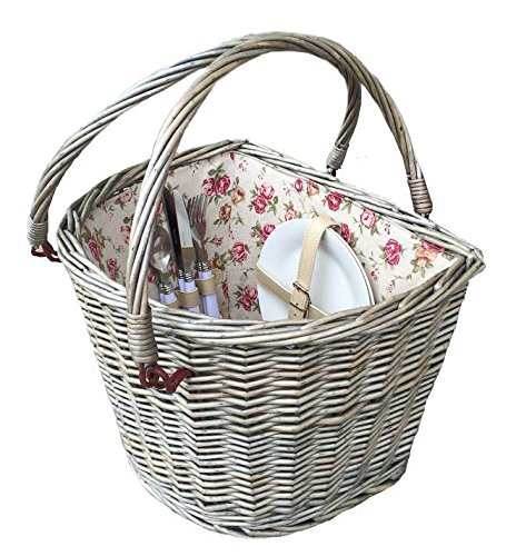 2 Person Fitted Bicycle Picnic Basket