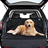 Car boot liners for dogs, Universal Car Boot Protector Waterproof Boot Cover with Side Protection Nonslip Durable Trunk Protector for Dogs Pets Auto Back Seat Cover Dirt Resistant Fits Most Cars