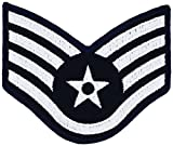 Dress Air Force Chevrons-PAIR-LARGE OR SMALL (LARGE, SSG)