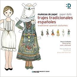 Munecas De Papel Paper Dolls Trajes Tradicionales