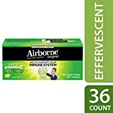 Airborne- Effervescent Adult Formula, 36Tablets Lemon-Lime (Bonus Size)